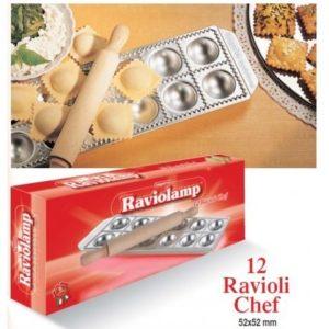 Raviolamp 12 ravioli chef